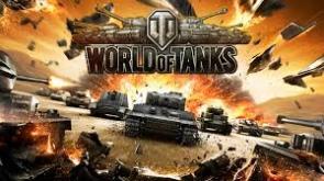 Реклама игры World of tanks