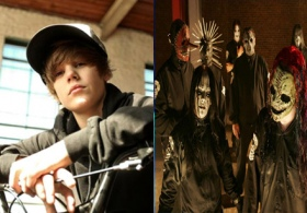 Slipknot Justin Bieber Mash up!
