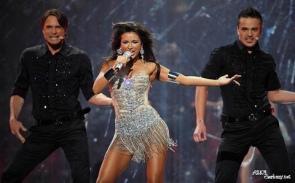 Платья Евровидения 2008